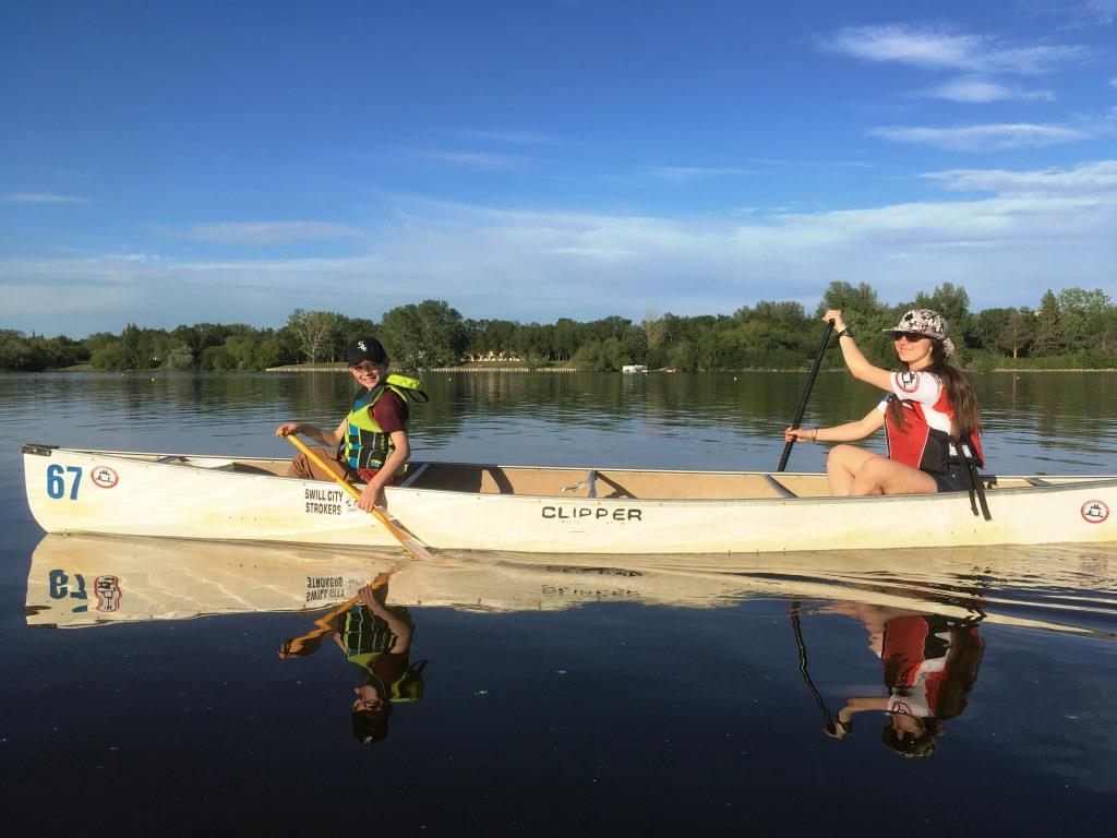 Header Image - Welcome to the Regina Marathon Canoe Club